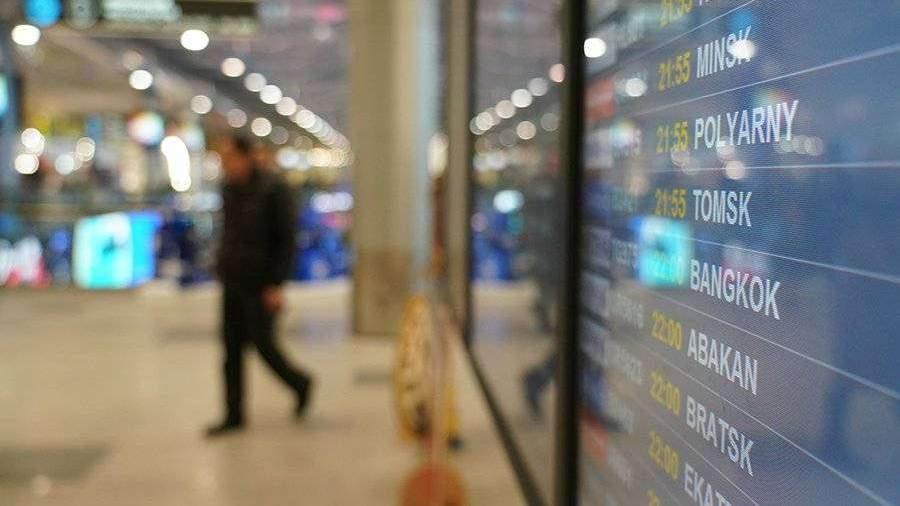 Более 30 рейсов отменены и задержаны в аэропортах Москвы