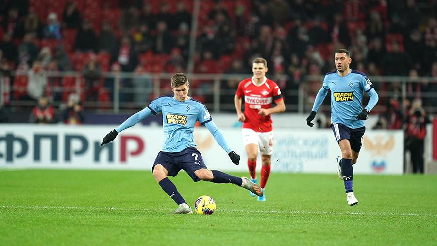 СМИ назвали условия трансфера футболиста Соболева в «Спартак»
