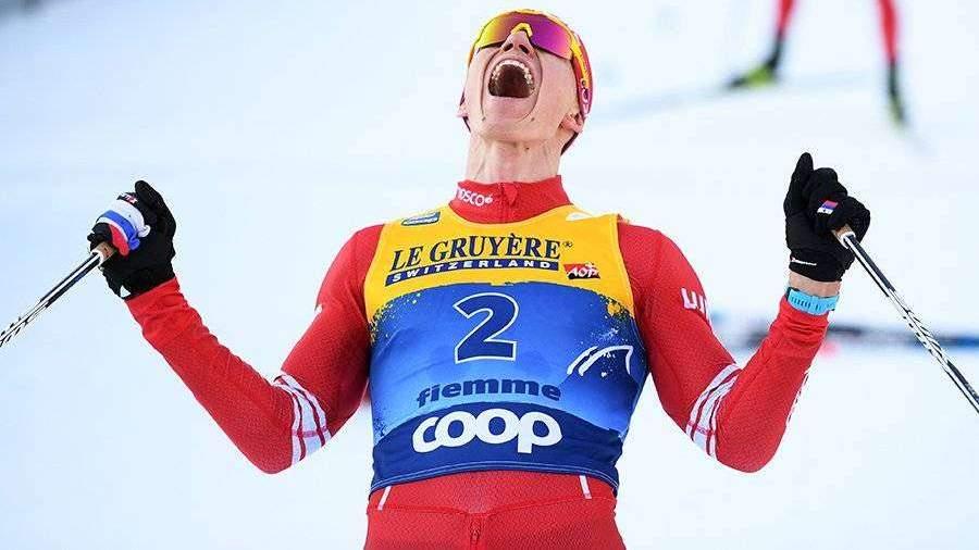 Лыжник Большунов впервые в карьере выиграл общий зачет «Тур де Ски»