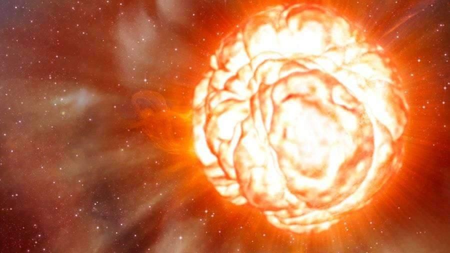 Ученые рассказали об опасности звезды Бетельгейзе для спутников и космонавтов