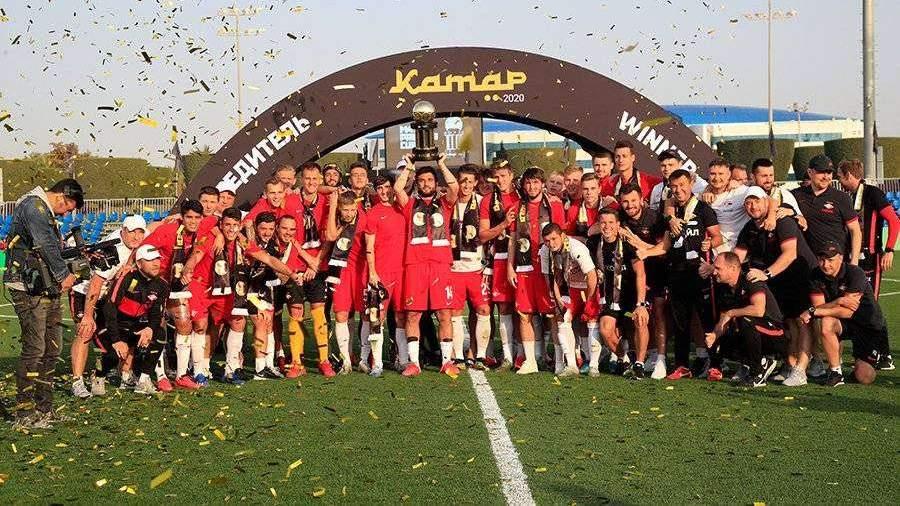 «Спартак» второй раз подряд выиграл Кубок Париматч Премьер в Катаре