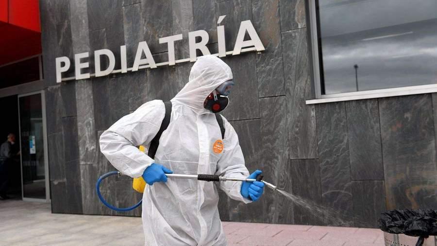 В Испании за последние сутки выявили более 2,5 тыс. случаев ...