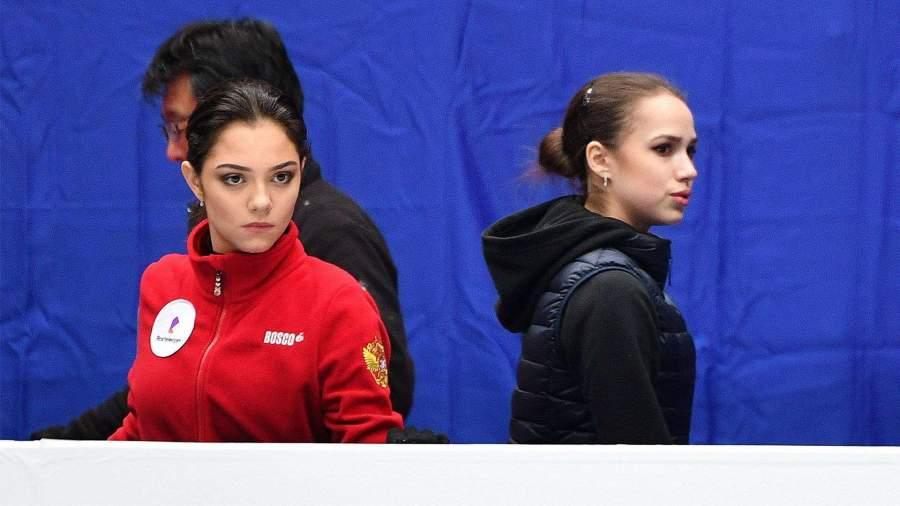 Загитова и Медведева вошли в состав сборной России на сезон 2020/21