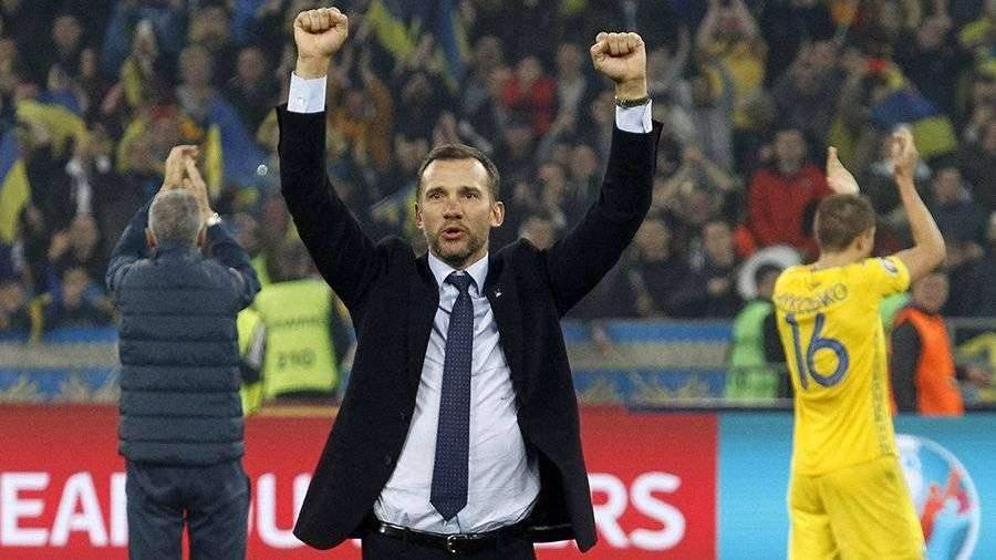 Андрей Шевченко продлил контракт со сборной Украины до 2022 года