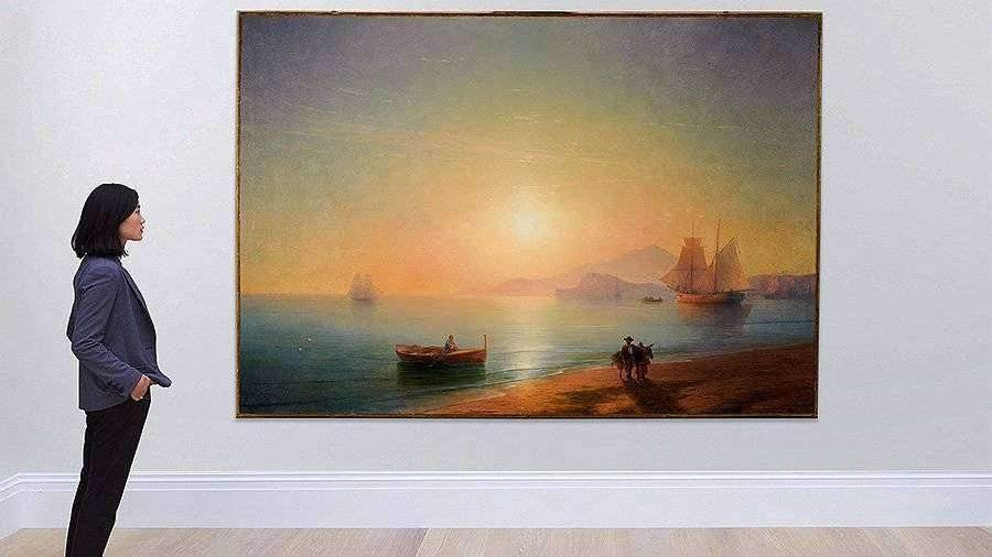 Картина Ивана Айвазовского «Неаполитанский залив» продана с аукциона почти за $3 млн.
