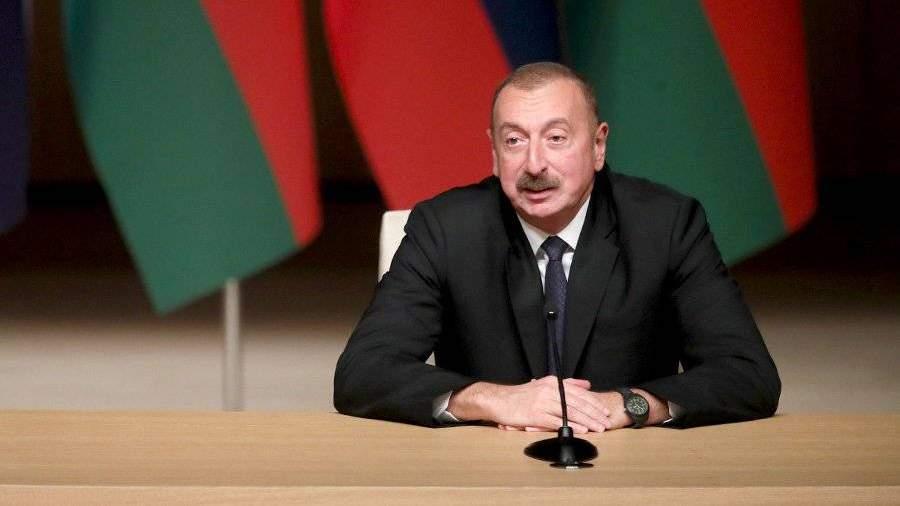 Алиев оценил возможность размещения миротворцев в Нагорном Карабахе