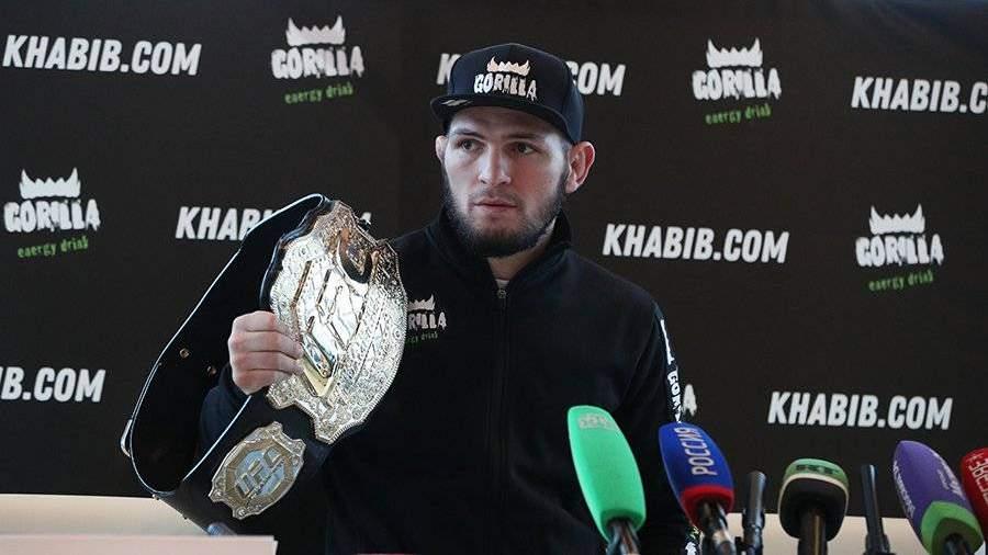 Хабиб Нурмагомедов занял второе место в топ-10 лучших спортсменов мира