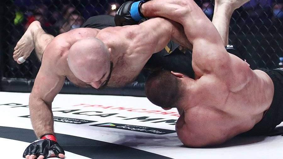 Боец MMA Исмаилов победил Штыркова в поединке АСА 115