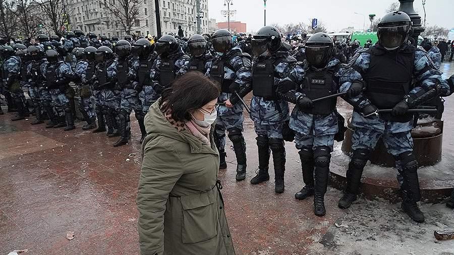"""Акция 23 января 2021. Источник: """"Известия"""""""