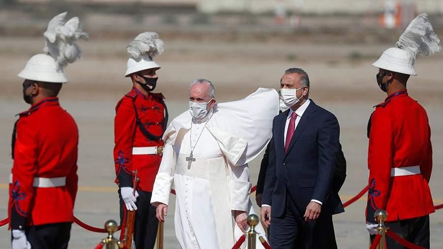Папа римский приехал с апостольским визитом в Ирак