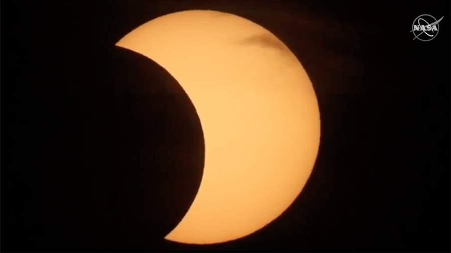Первое в 2021 году солнечное затмение. Видеотрансляция