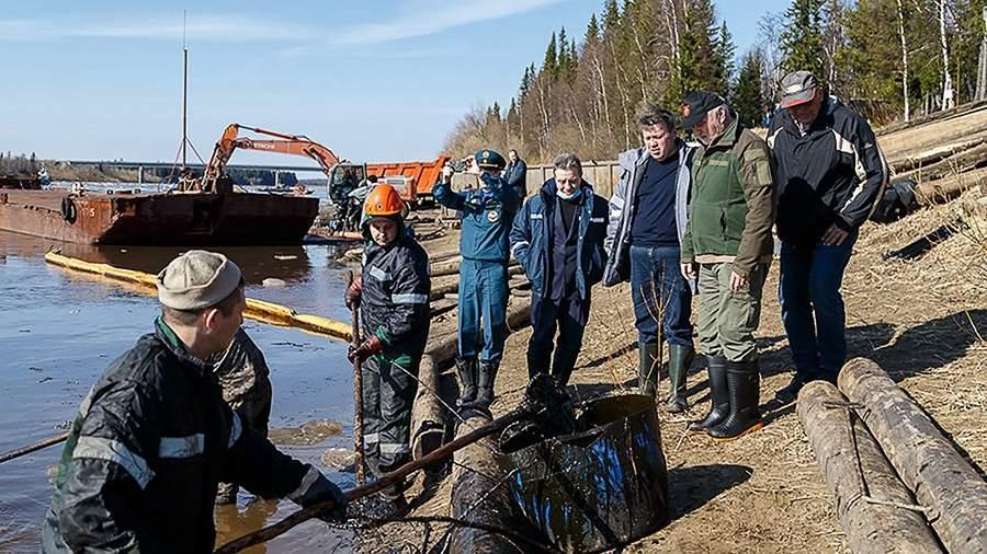 Глава Росприроднадзора заявила, что ущерб от разлива на Ошинском месторождении Лукой превысил 300 млн. рублей