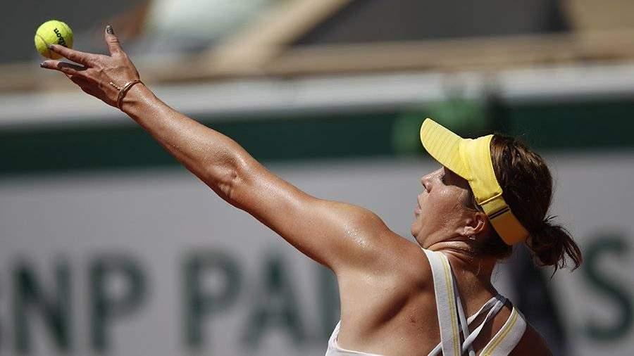В финале «Ролан Гаррос» Павлюченкова сыграет с Крейчиковой