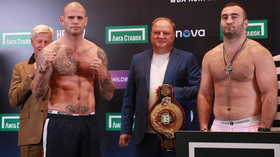 Участники боксерского турнира в Москве рассказали о подготовке к поединкам