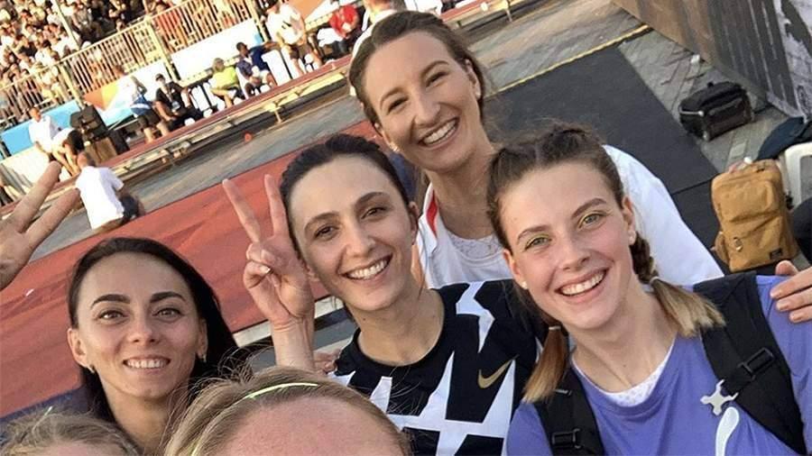 Украинская спортсменка Магучих объяснила новое совместное фото с Ласицкене