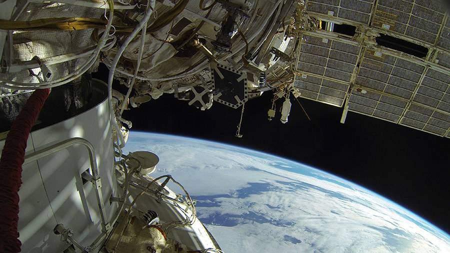NASA опровергло повреждение панели радиаторов на МКС
