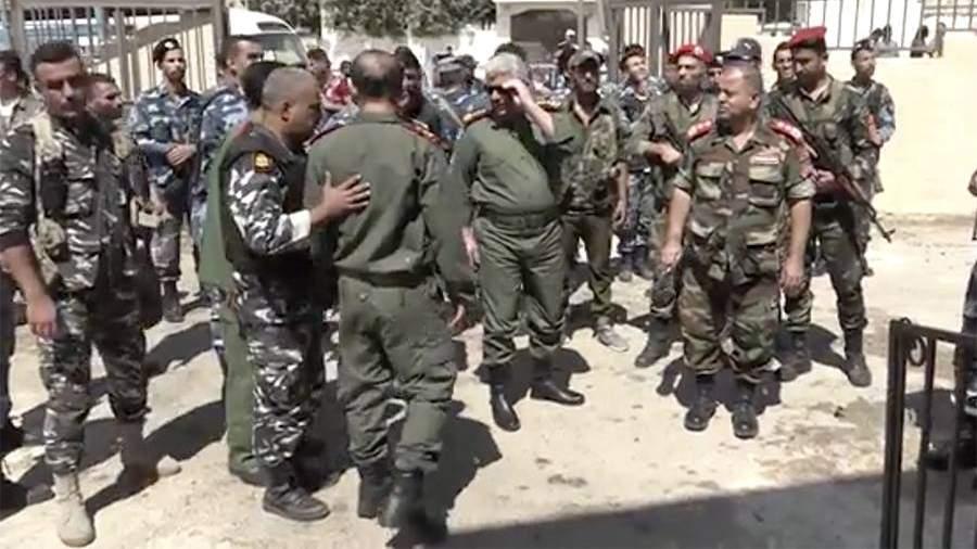 Провинция Дераа в Сирии вернулась под контроль властей