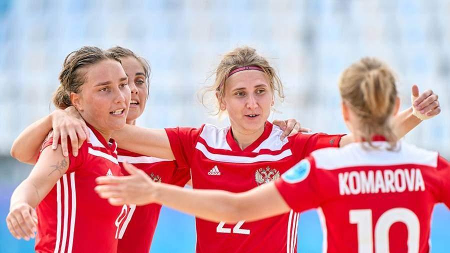 Женская сборная России победила в Суперфинале Евролиги по пляжному футболу