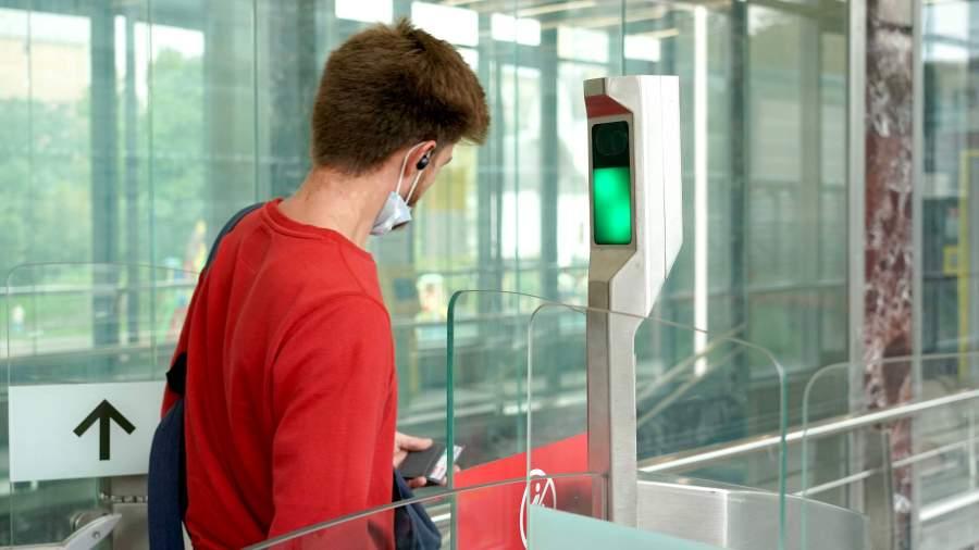 биометрия на транспорте
