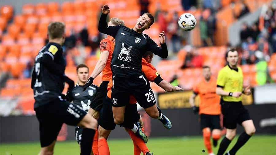 «Рубин» выиграл впервые за пять матчей