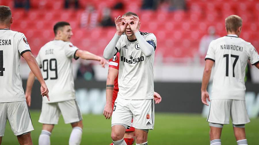 Польская «Легия» пошутила над «Спартаком» после победы в Москве