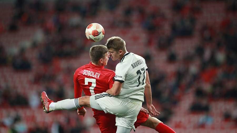 «Спартак» проиграл «Легии» в матче Лиги Европы