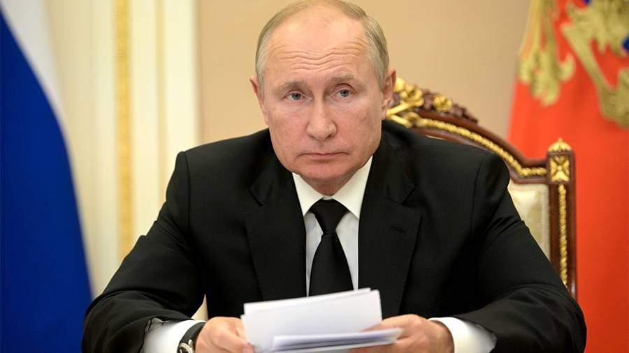 Путин сообщил правительству РФ об уходе на самоизоляцию