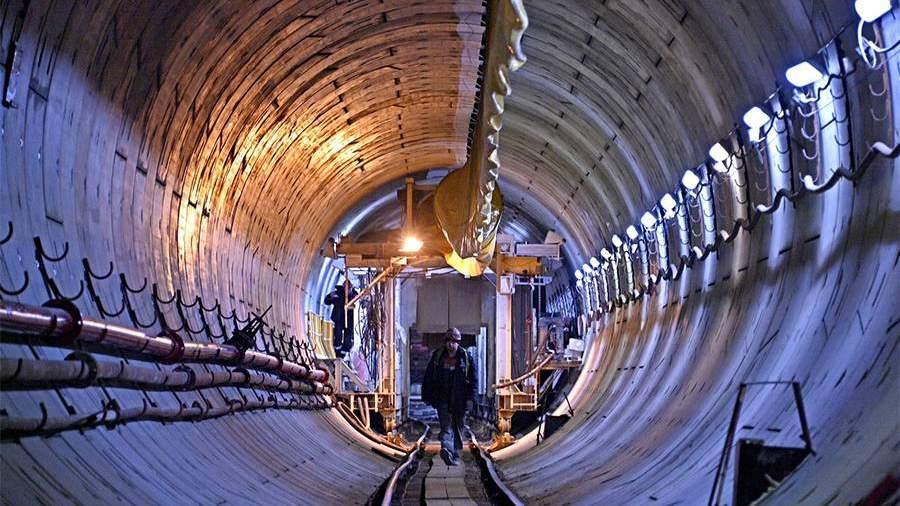 Завершена проходка очередного тоннеля Большого кольца московского метро