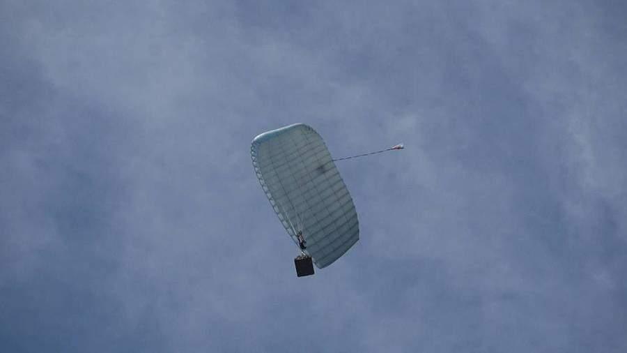 В России испытали «умный» парашют