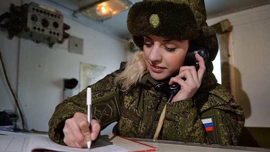 женщины на военную службу в части города ростова