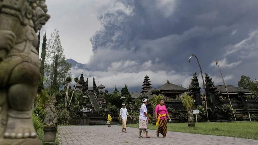 вулкан настоящий
