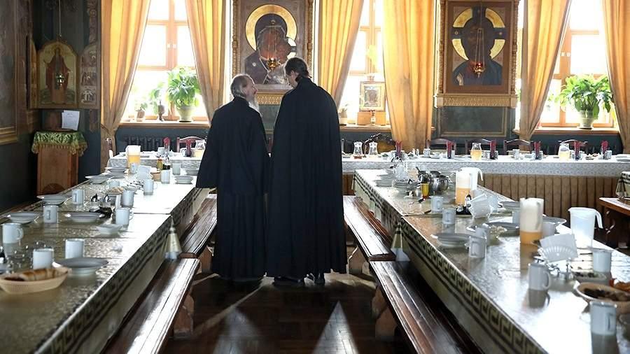 нового мужской монастырь рыльский фото трапезной монахов как всегда, личное