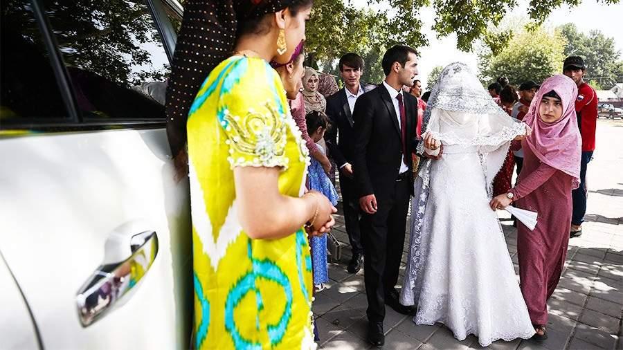 фото свадеб в душанбе золотая