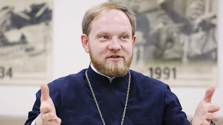 пресс-секретарь Святейшего патриарха Московского и всея Руси священник Александр Волков