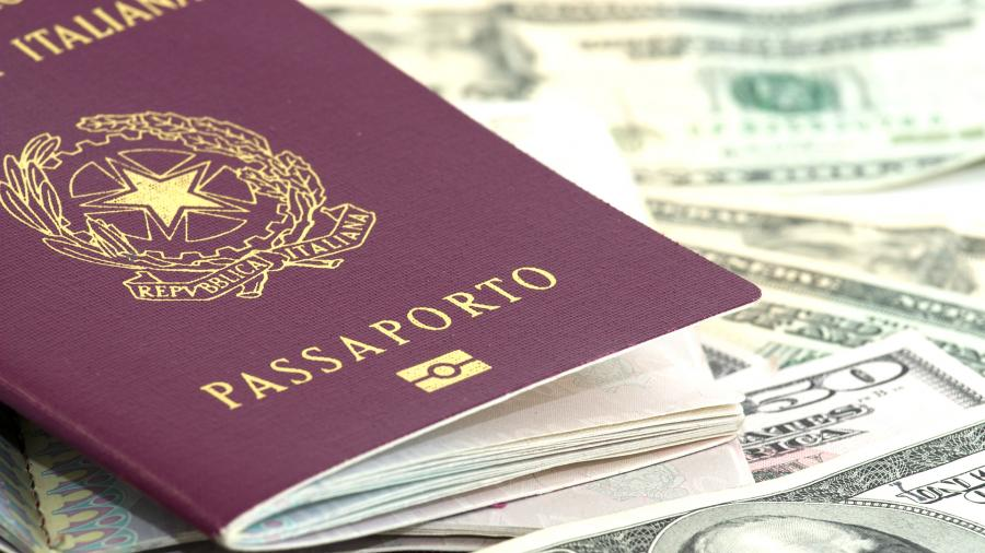 паспорт гражданин италия