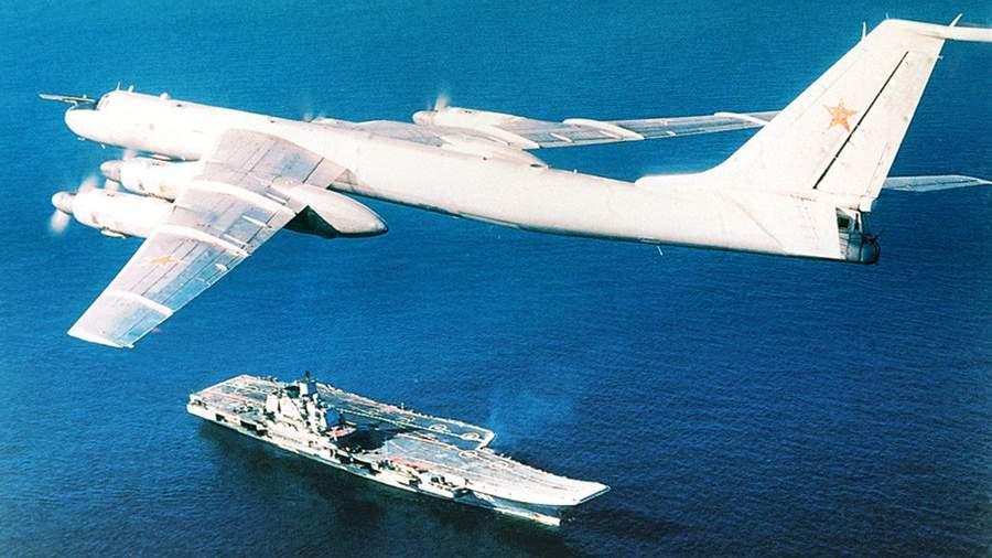 Противолодочный самолет дальнего радиуса действия Ту-142М