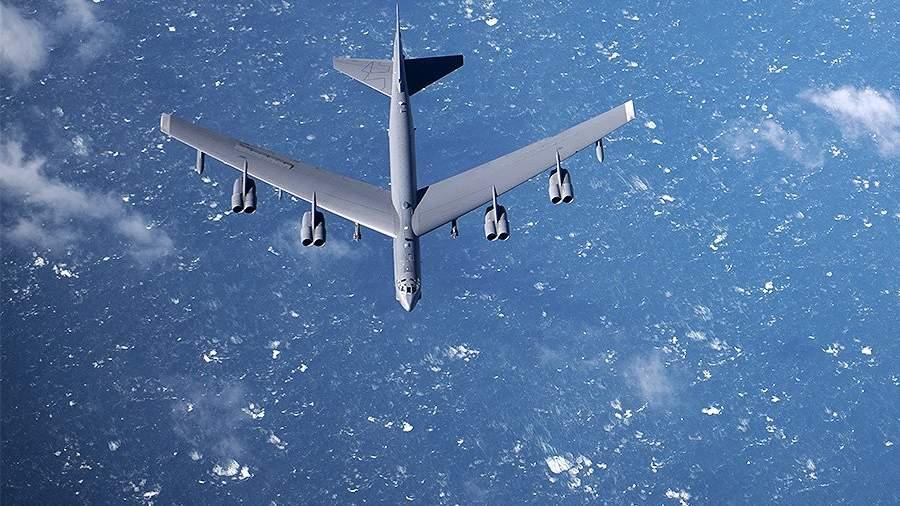 Американский стратегический бомбардировщик B-52 «Стратофортресс»