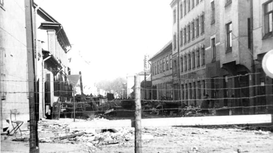 Рижское гетто. 1942 год