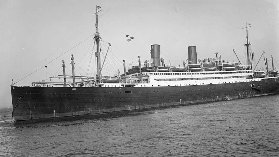 Круизный лайнер «Берлин». 1920-е годы