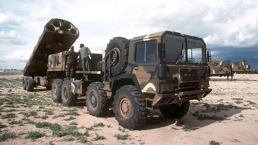 Ракетный комплекс средней дальностиBGM-109G Gryphon