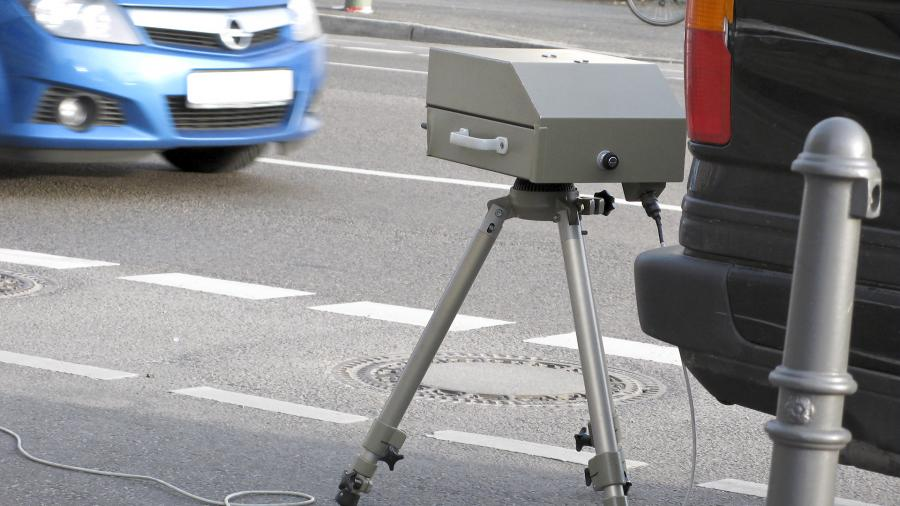 Мобильная камера измерения скорости