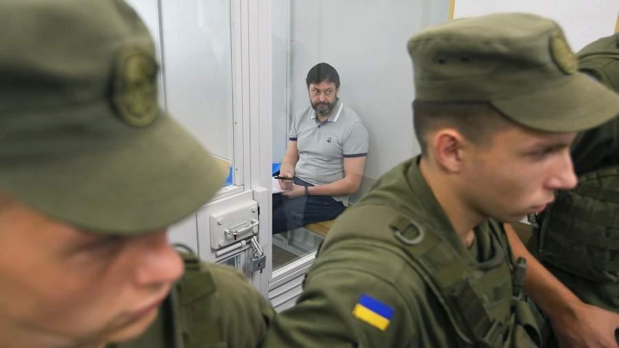 Кирилл Вышинский на заседании Киевского апелляционного суда