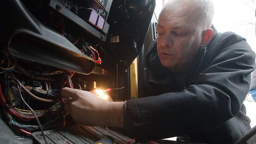 Установка оборудования системы мониторинга и слежения за транспортом Дозор GPS/GLONASS