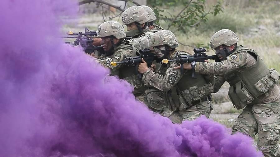 Совместные военные учения стран-членов и партнеров НАТО «Достойный партнер» в Грузии
