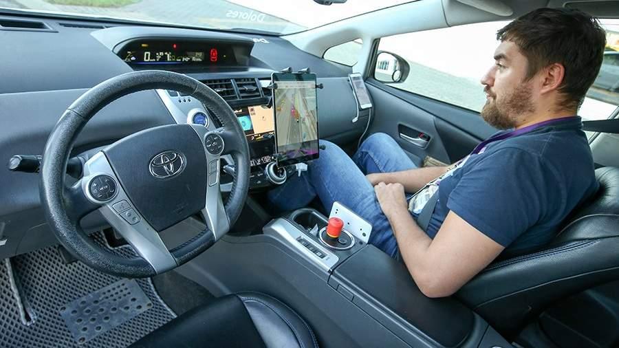 Бортовой компьютер в беспилотном такси «Яндекс»