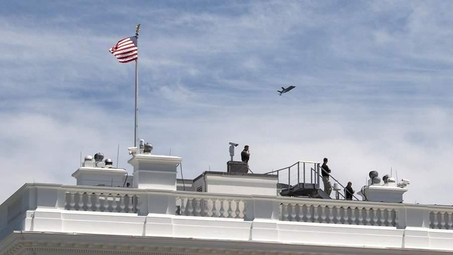 F-35 над Вашингтоном