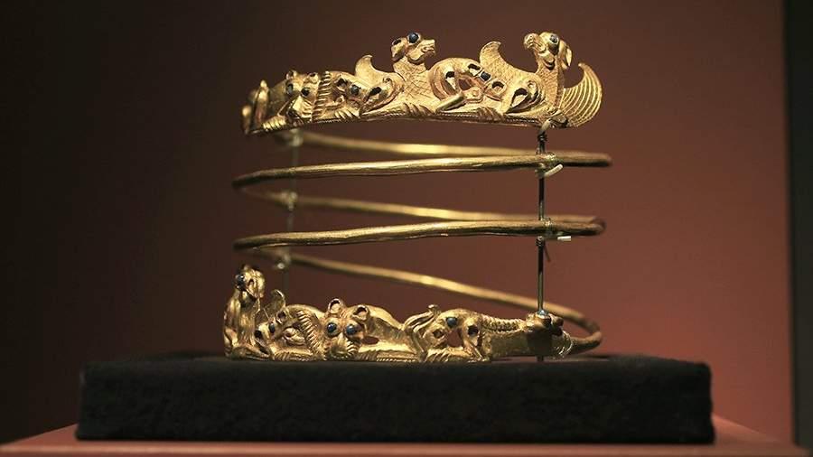 Металлическое ожерелье, II в. н.э.
