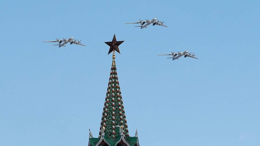 Ту-95МС во время Парада Победы 2017 года