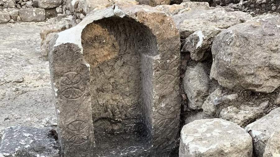 Алтарь найденного храма