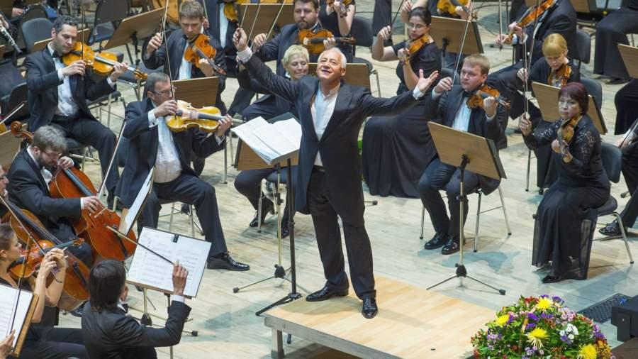 Владимир Спиваков и Национальный филармонический оркестр